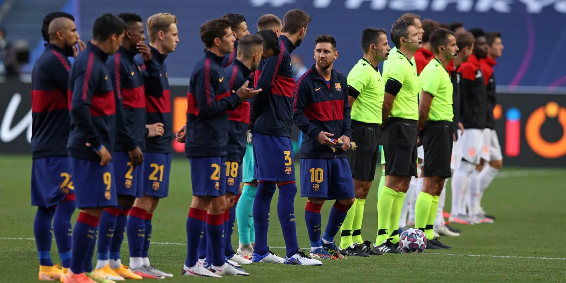 Le grand nettoyage se prépare à Barcelone: tout le monde peut partir, sauf 4 joueurs !