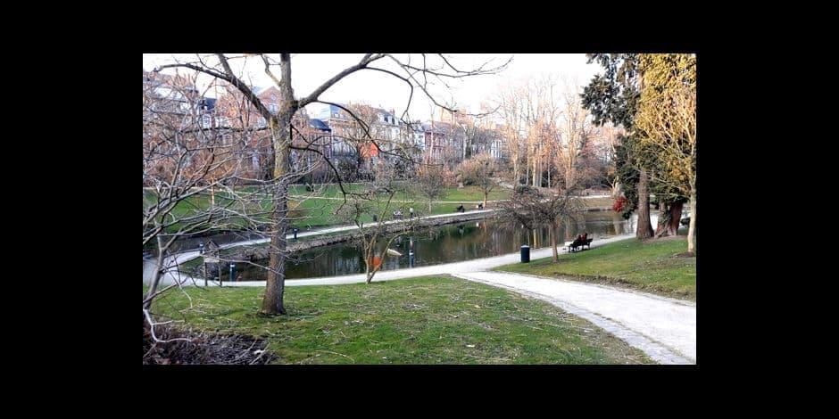 Une personne retrouvée morte au parc Louise Marie à Namur