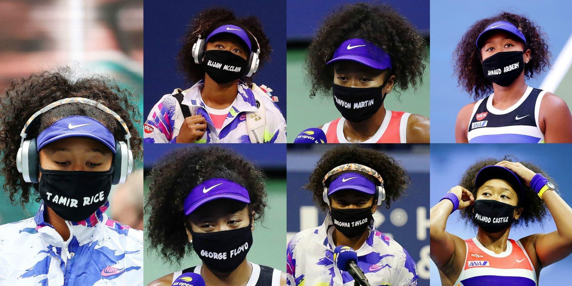 Sept matchs pour sept masques et sept histoires tragiques: Osaka, une championne qui affiche ses convictions