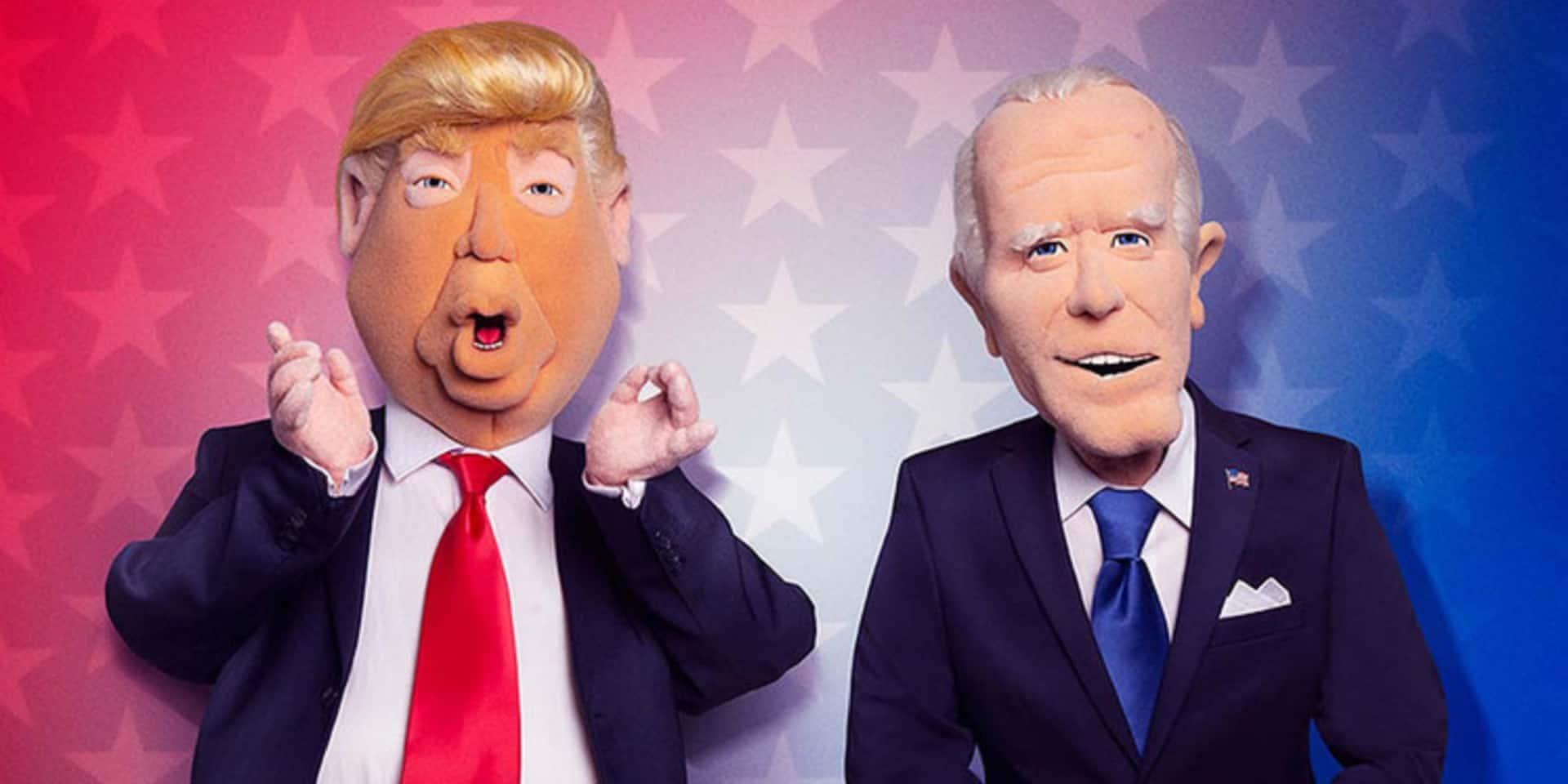 Les Guignols de l'info version Donald Trump et Joe Biden débarquent aux USA