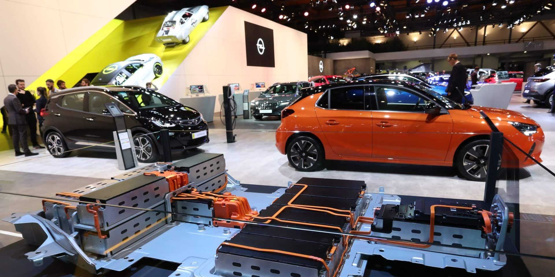 Salon de l'Auto: Opel réduit son réseau de concessionnaires et de points de vente en Belgique