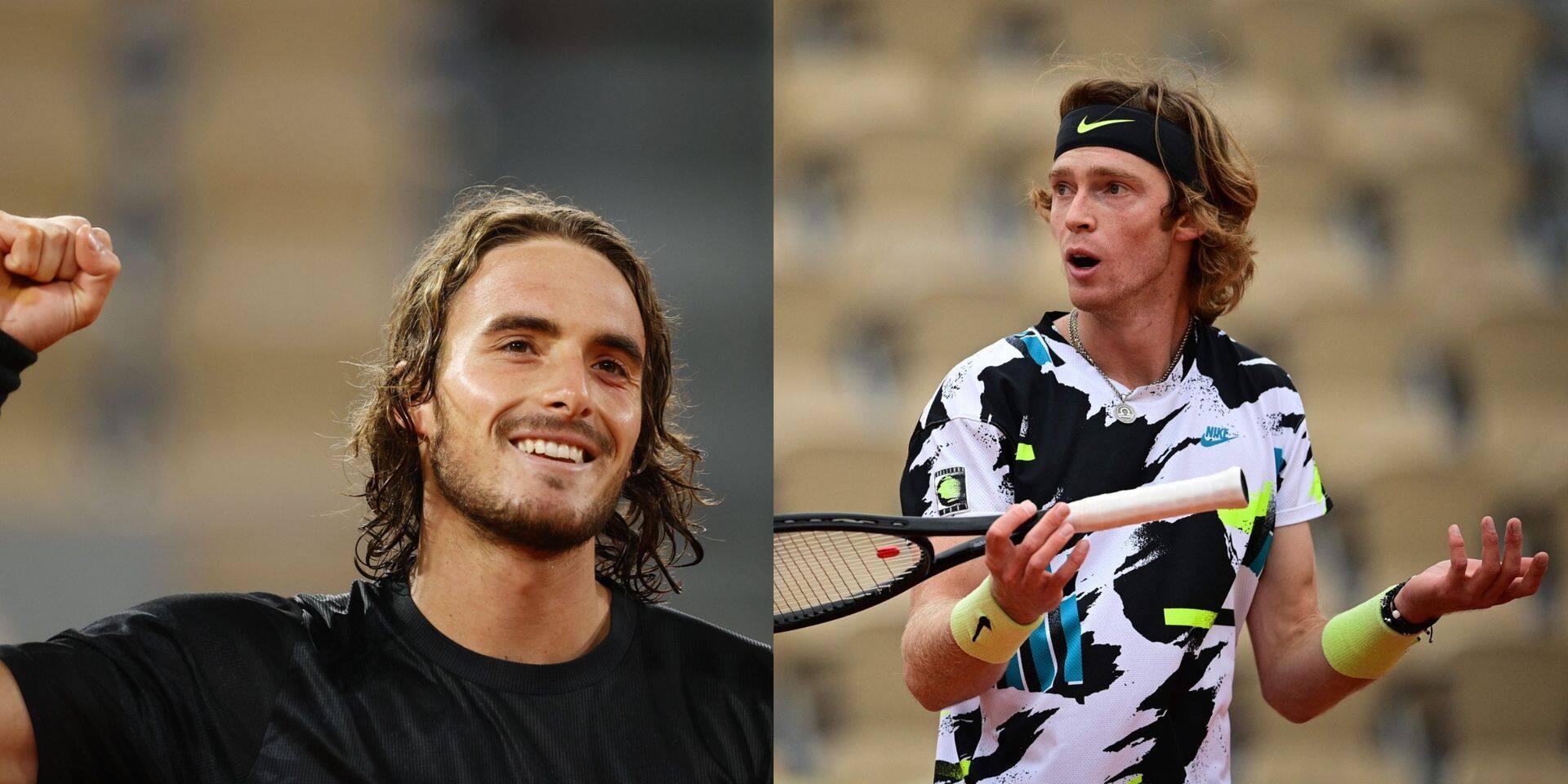 Roland-Garros: Tsitsipas et Rublev au rendez-vous des quarts