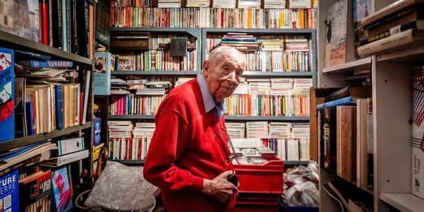 Evere : Edmond stocke des milliers de livres dans ses caves