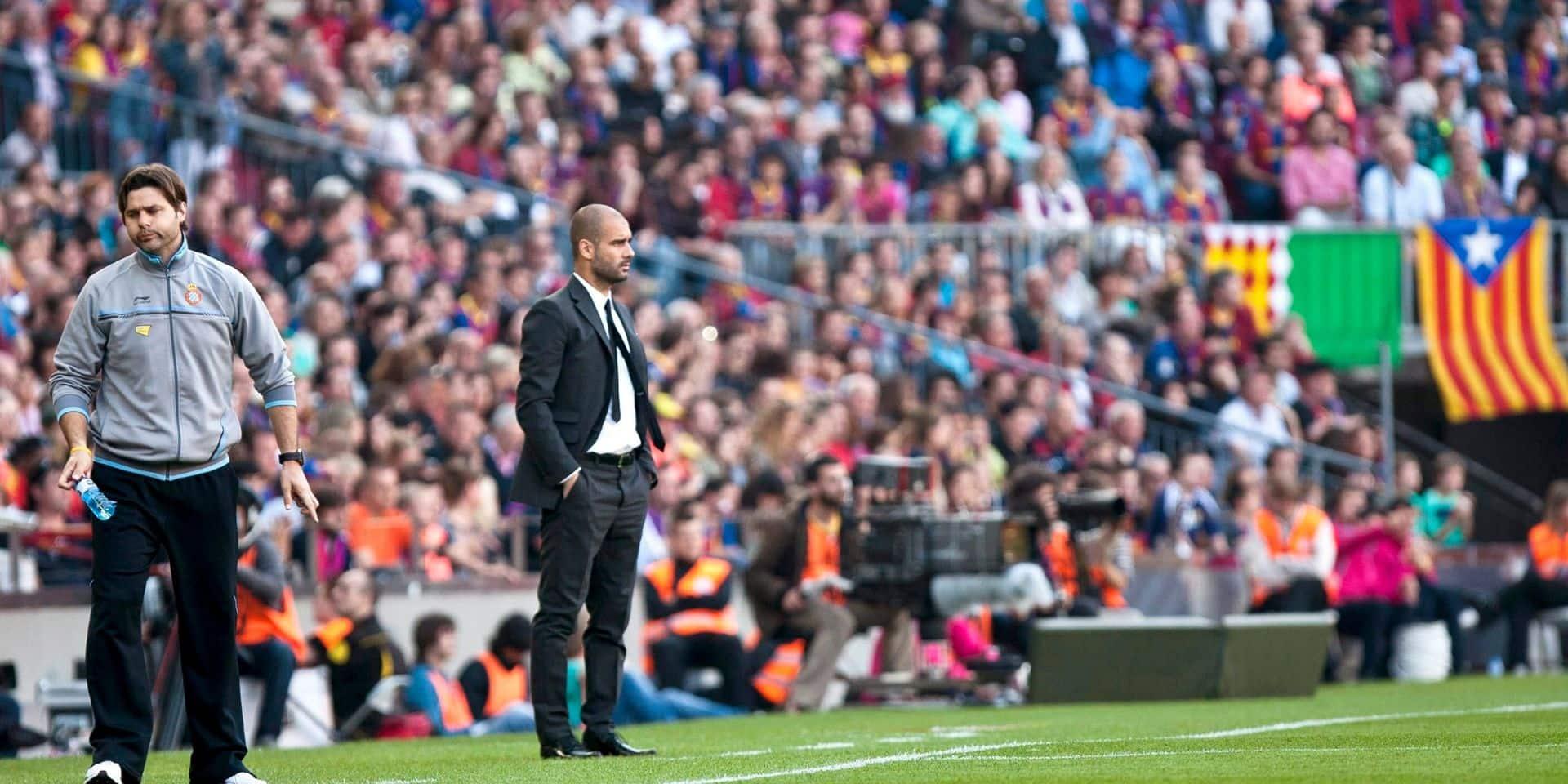 Guardiola-Pochettino: une rivalité qui tourne largement à l'avantage du Catalan