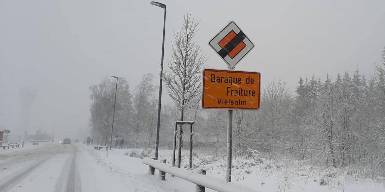 L'accès au site de La Baraque de Fraiture (Vielsalm) est interdit