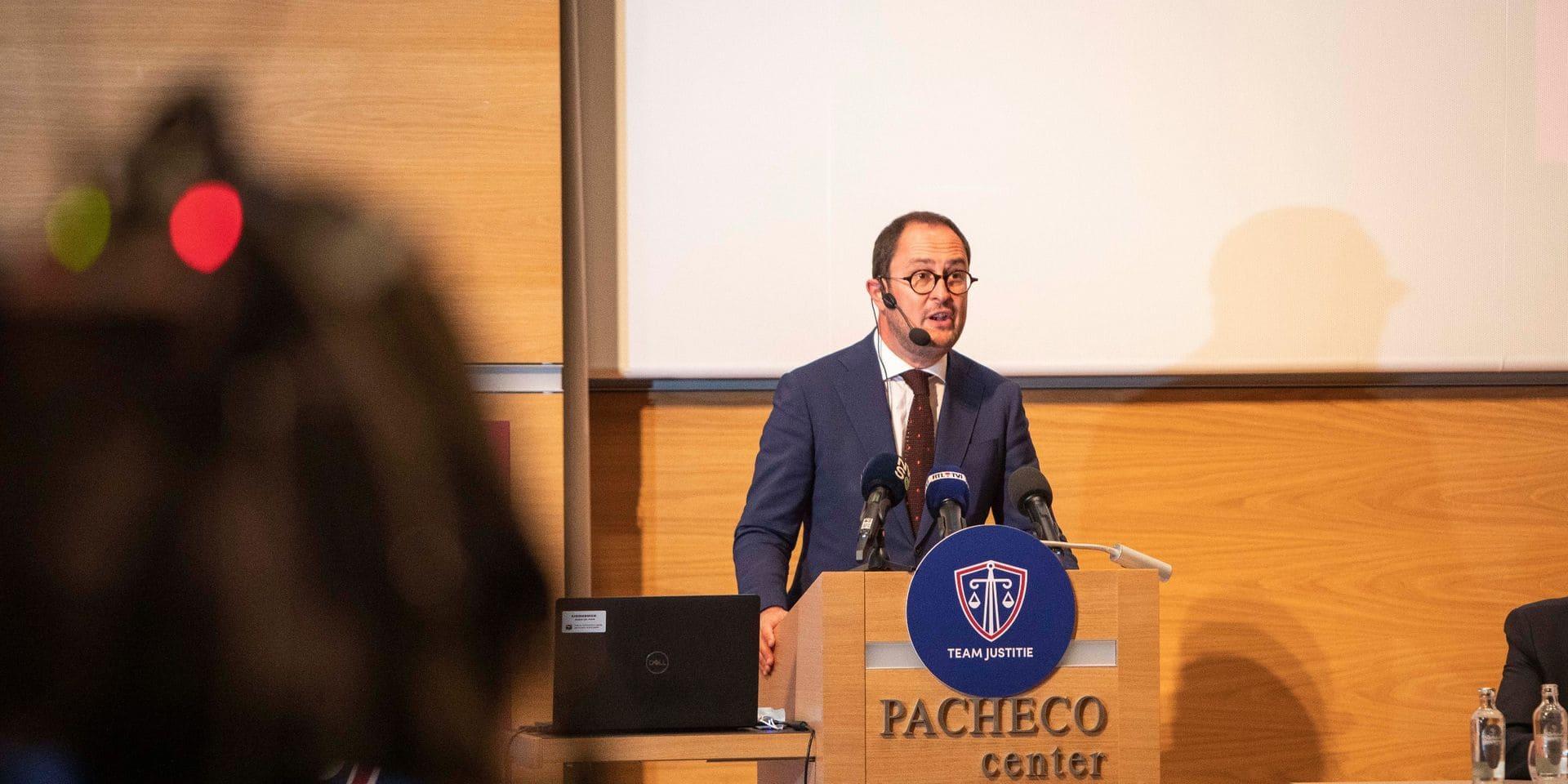 Augmentation structurelle du budget, plus de 1.000 embauches prévues : Vincent Van Quickenborne présente un vaste plan d'investissement dans la Justice