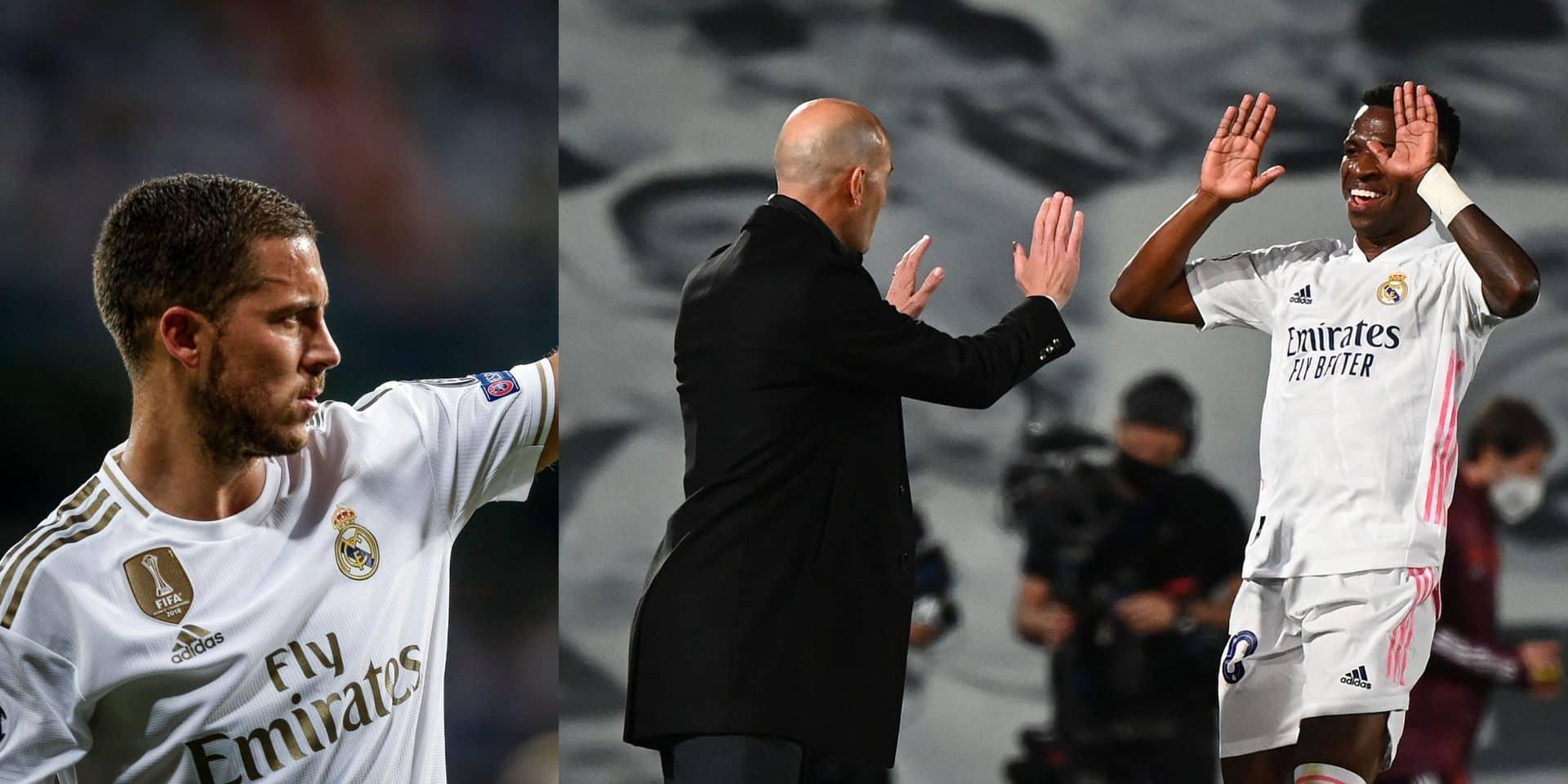 Eden Hazard doit-il craindre Vinicius pour sa place au Real Madrid?