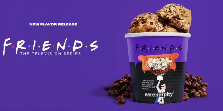 """La série """"Friends"""" déclinée... en crème glacée !"""