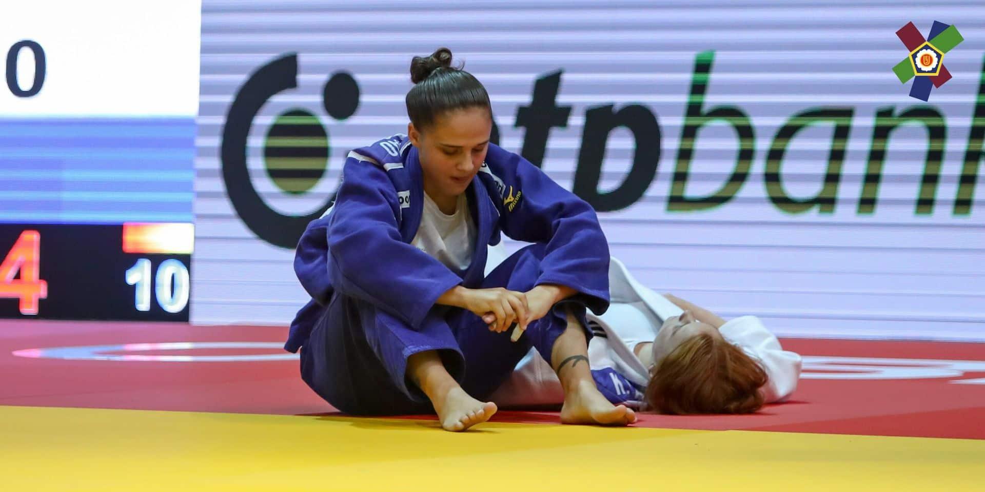 """Alessia Corrao a combattu avec le coude cassé au Mondial juniors : """"Je ne voulais pas abandonner"""""""