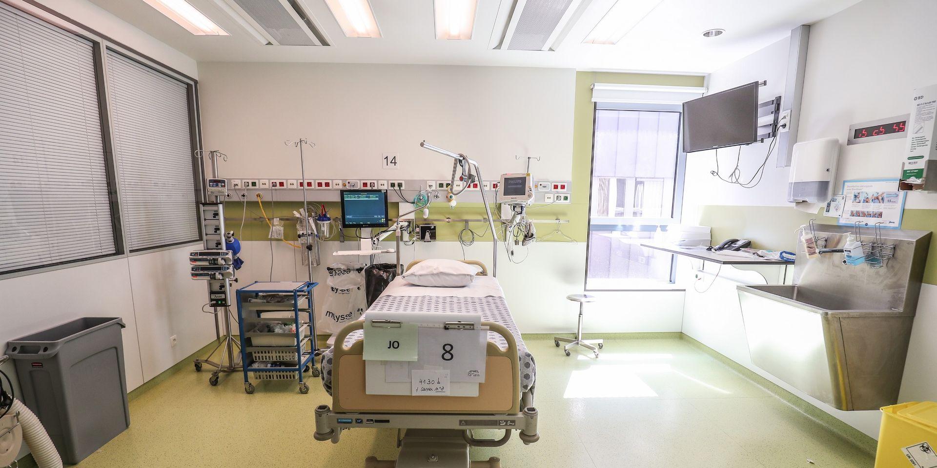 Le plan de répartition de malades du coronavirus entre hôpitaux reste en phase 0