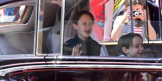 Mariage de Meghan et Harry : on sait pourquoi l'enfant d'honneur au eu ce sourire béat - La DH