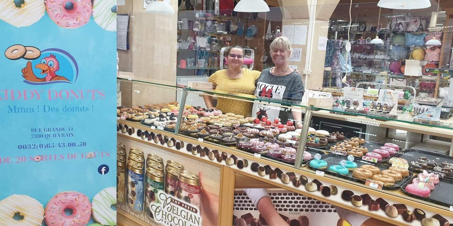Une pluie de délicieux donuts à Quiévrain