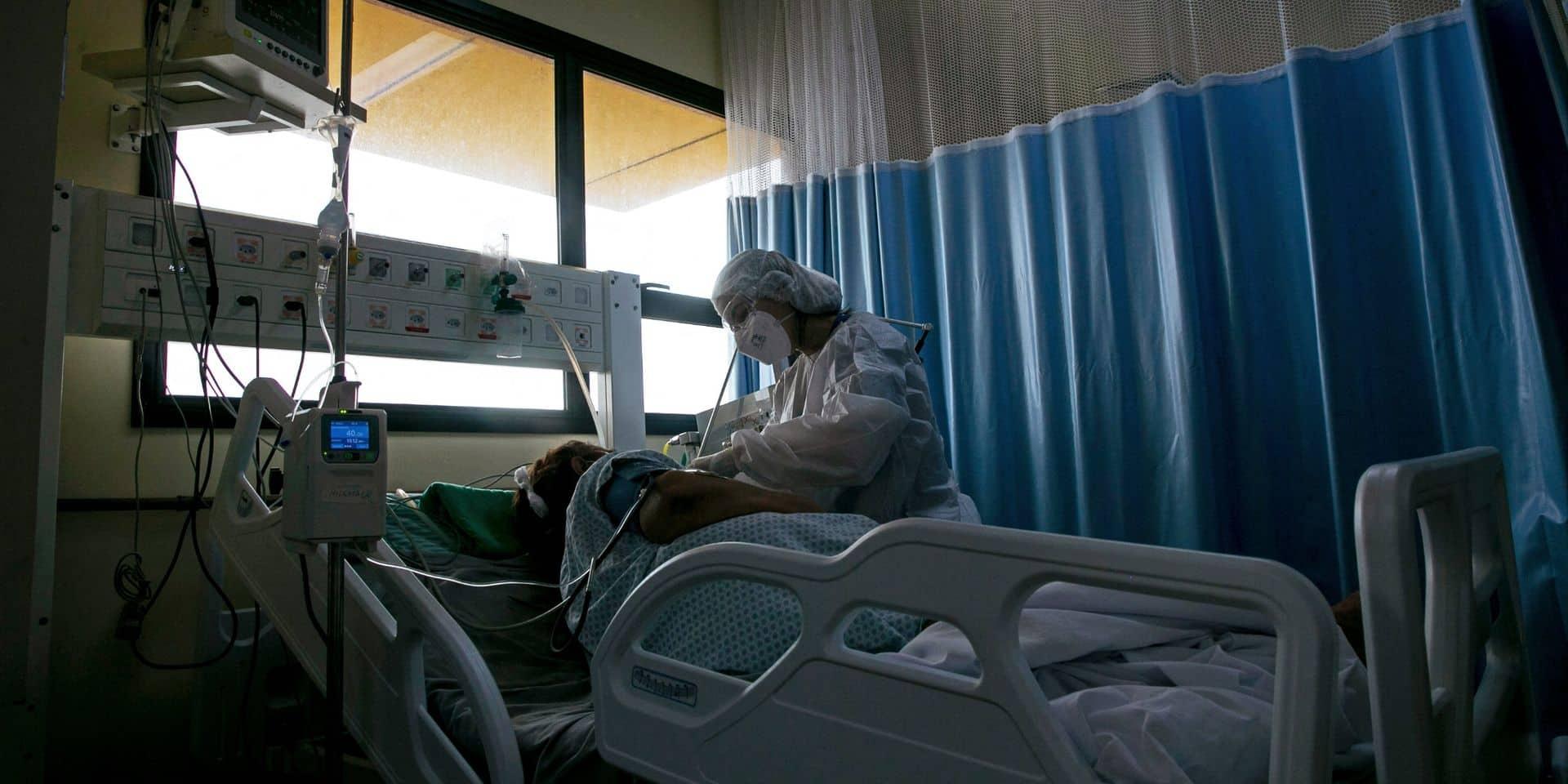 Relèvement du niveau d'alerte dans les hôpitaux: ils passeront bientôt en phase 2A