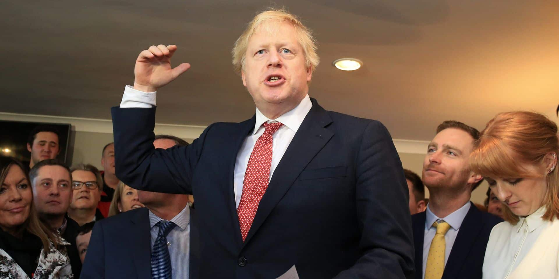 "Boris Johnson: ""Le Parlement votera le Brexit avant Noël"""