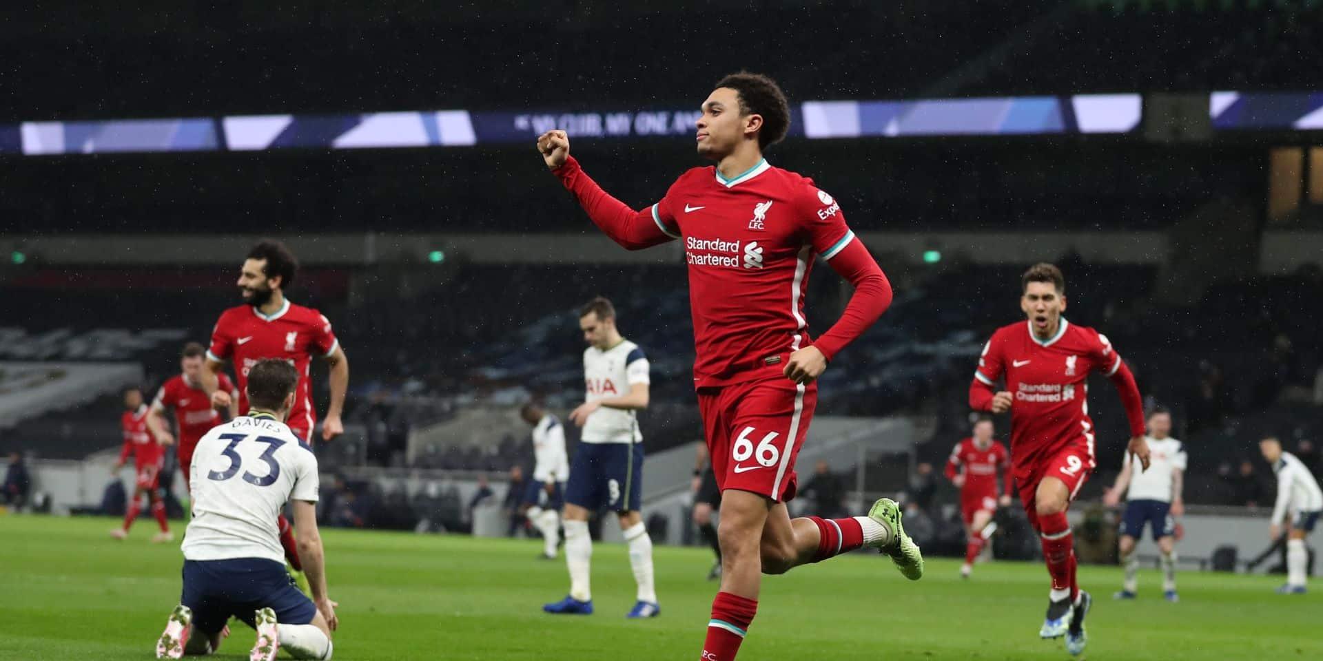 Face à Tottenham, les Reds se sont relancés