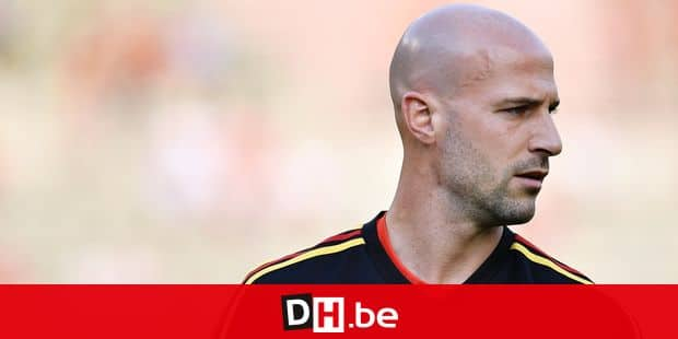 Belgium's Laurent Ciman pictured during the warming-up at a friendly game between Belgium national team, The Red Devils and Egyptian national soccer team, Wednesday 06 June 2018, in Brussels. Both teams prepare the upcoming FIFA World Cup 2018 in Russia. BELGA PHOTO DIRK WAEM