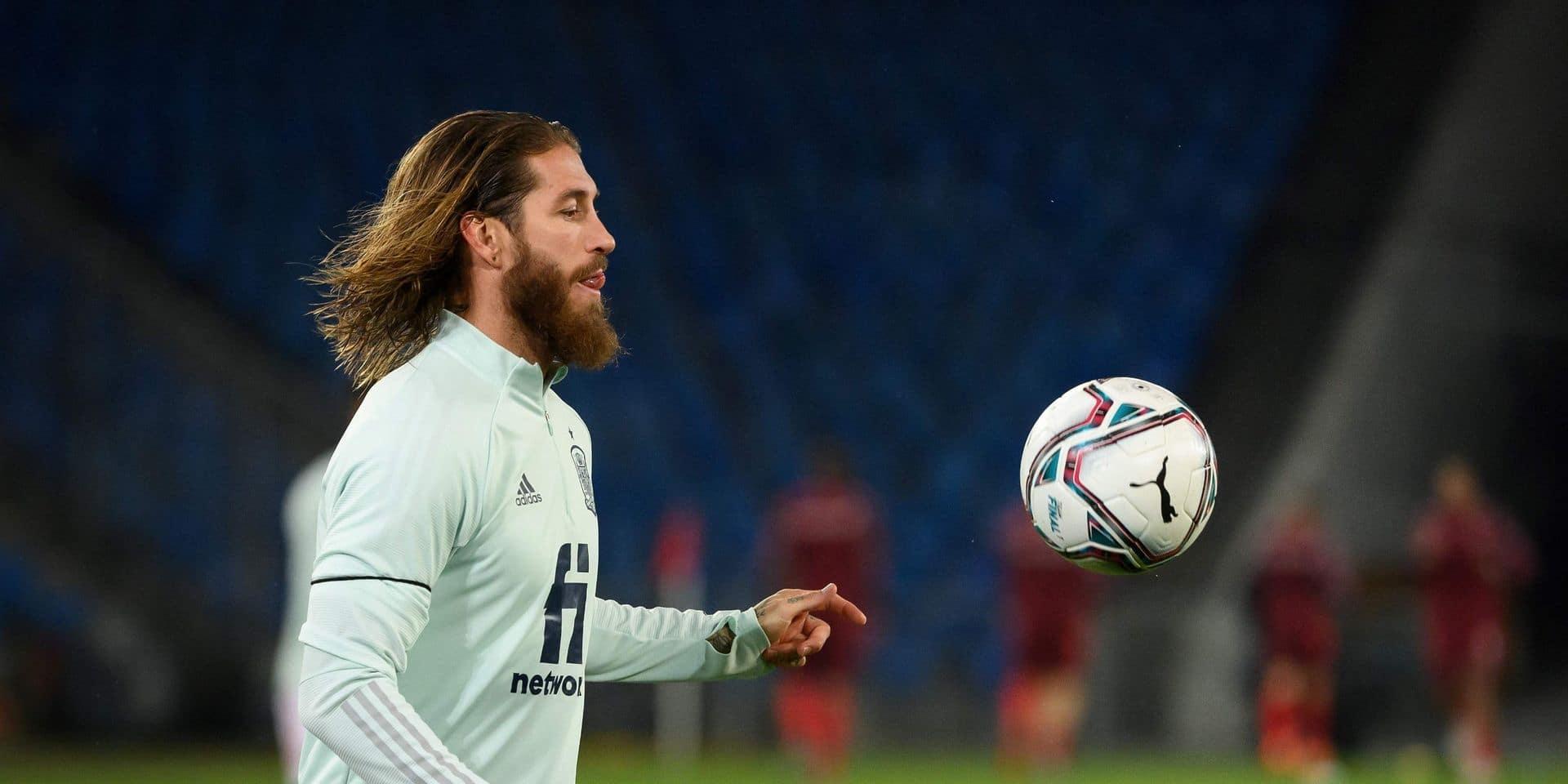 Sergio Ramos bat le record européen du nombre de matches internationaux joués