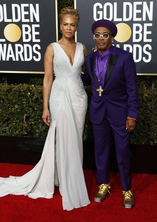 Spike Lee et son épouse, Tonya Levis Lee