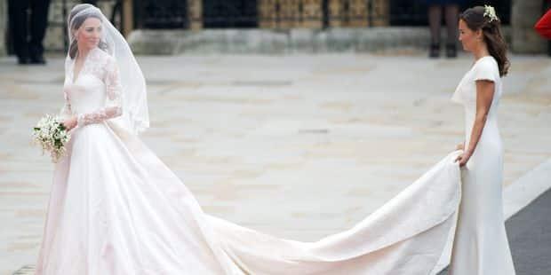 Kate Middleton, Grace Kelly, Lady Di : les plus belles robes de mariée de la royauté européenne - La DH