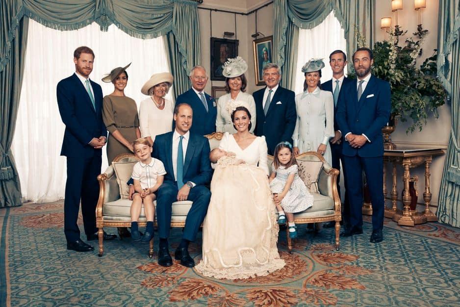 De nouvelles photos du baptême du prince Louis