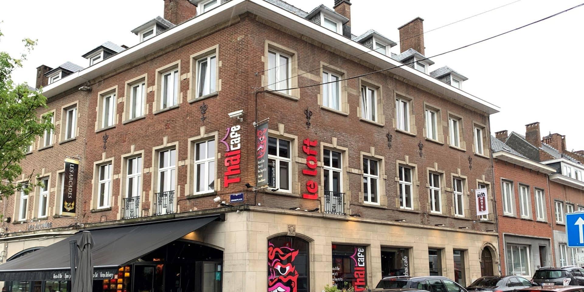 Six chambres d'hôtel sur la Grand-Place de Nivelles