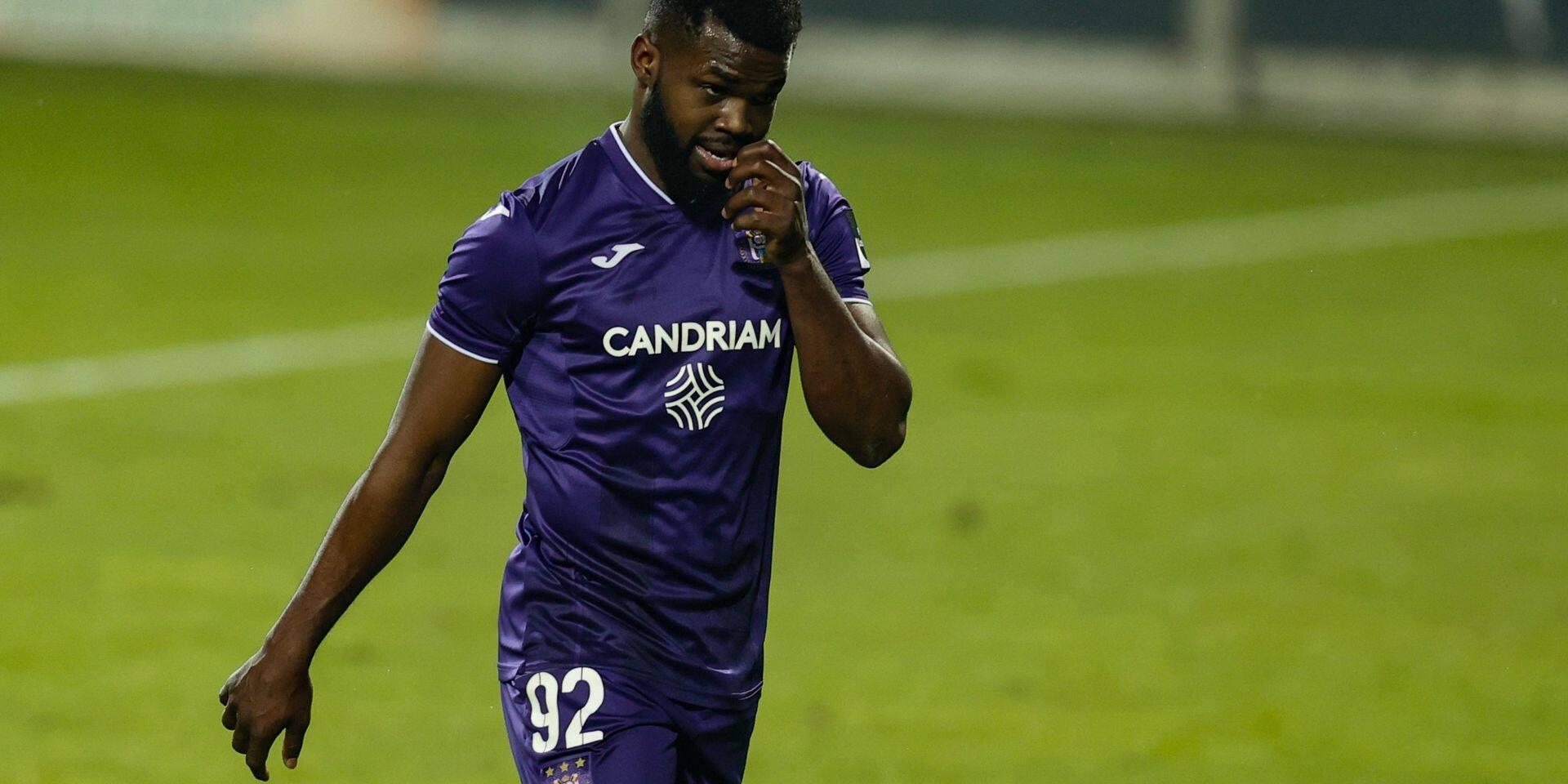 Un seul match de suspension ferme proposé à Kemar Lawrence (Anderlecht)