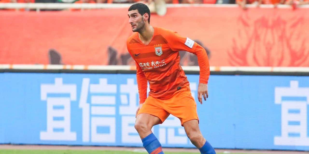 Marouane Fellaini battu en finale de Coupe de Chine
