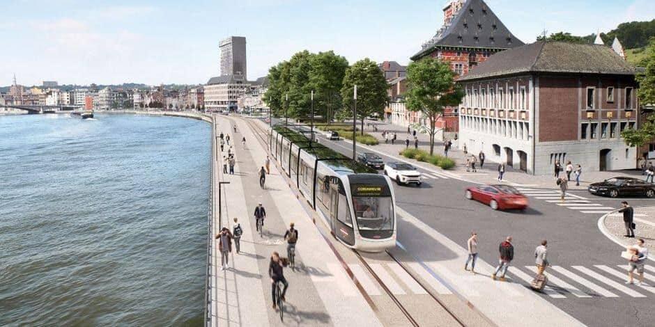 Le point sur les travaux du tram en Cité ardente
