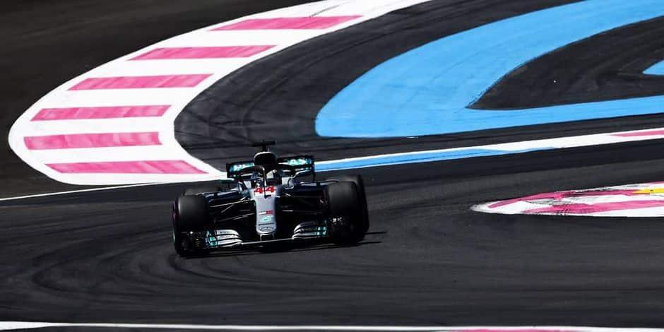 Lewis Hamilton (Mercedes) s'impose et reprend la tête du championnat — GP France
