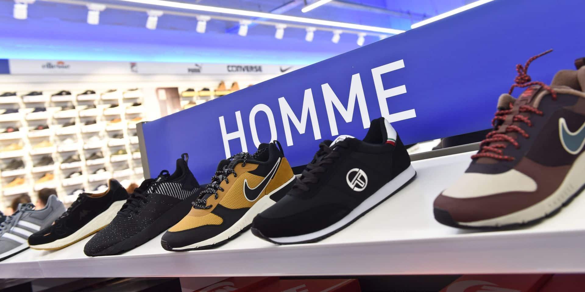 Les ventes de vêtements et chaussures en forte baisse en juillet