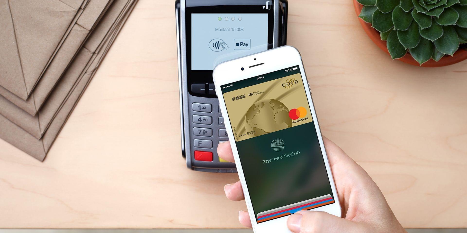Apple Pay, le service de paiement intégré aux iPhone, est officiellement lancé en Belgique
