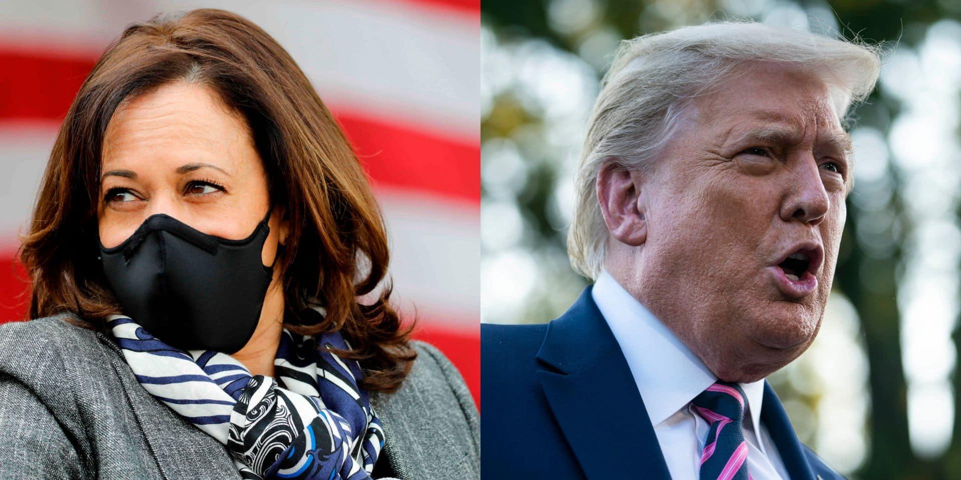 """""""Prenez d'abord les armes"""": ces propos attribués à Kamala Harris ont en réalité été prononcés par Donald Trump"""