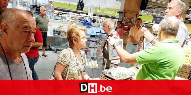 nouveau hypermarché Carrefour waterloo alimentation