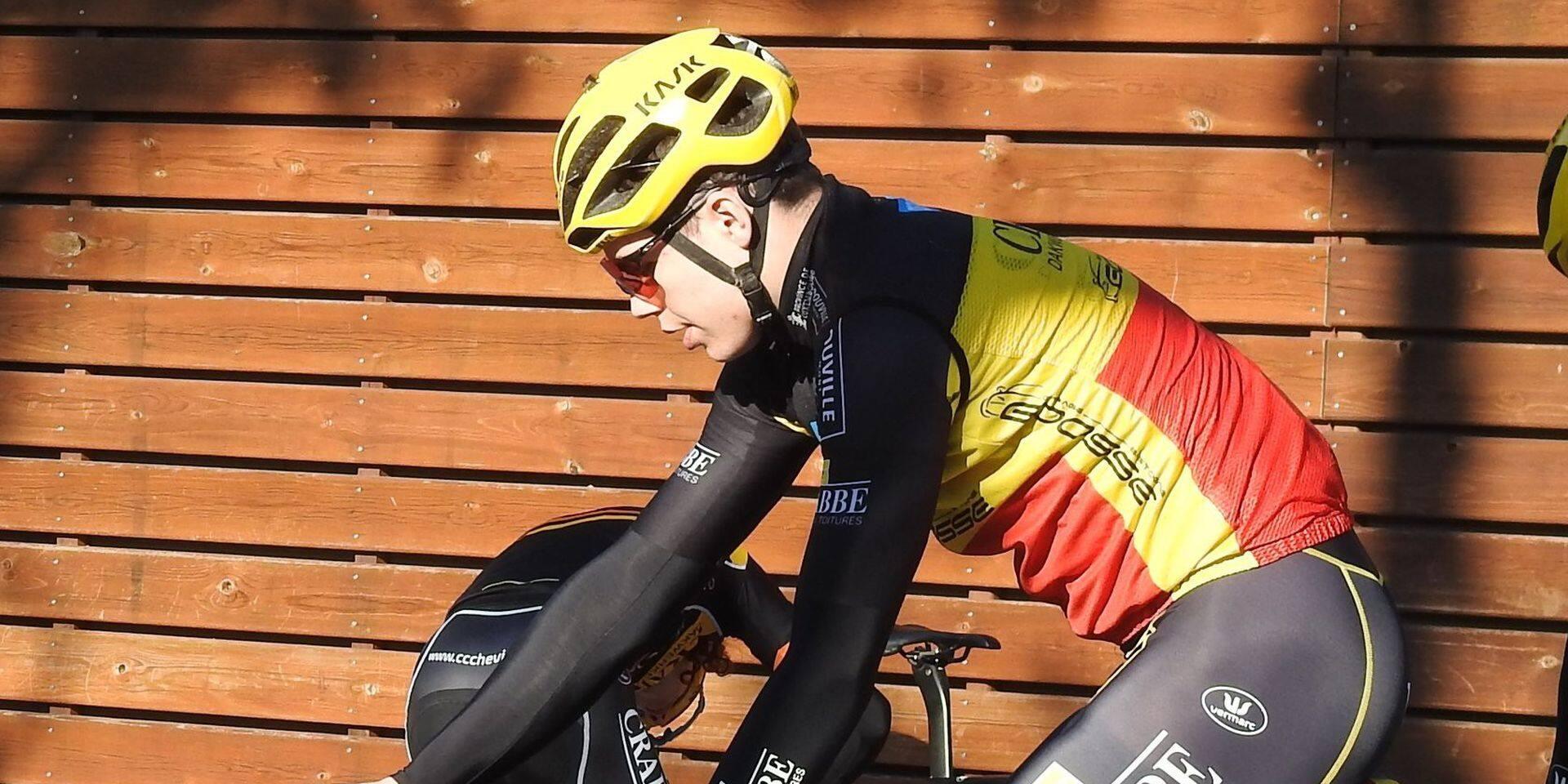 """Arnaud De Lie, mérite sportif de la province de Luxembourg: """"Gagner une première course UCI en 2020"""""""