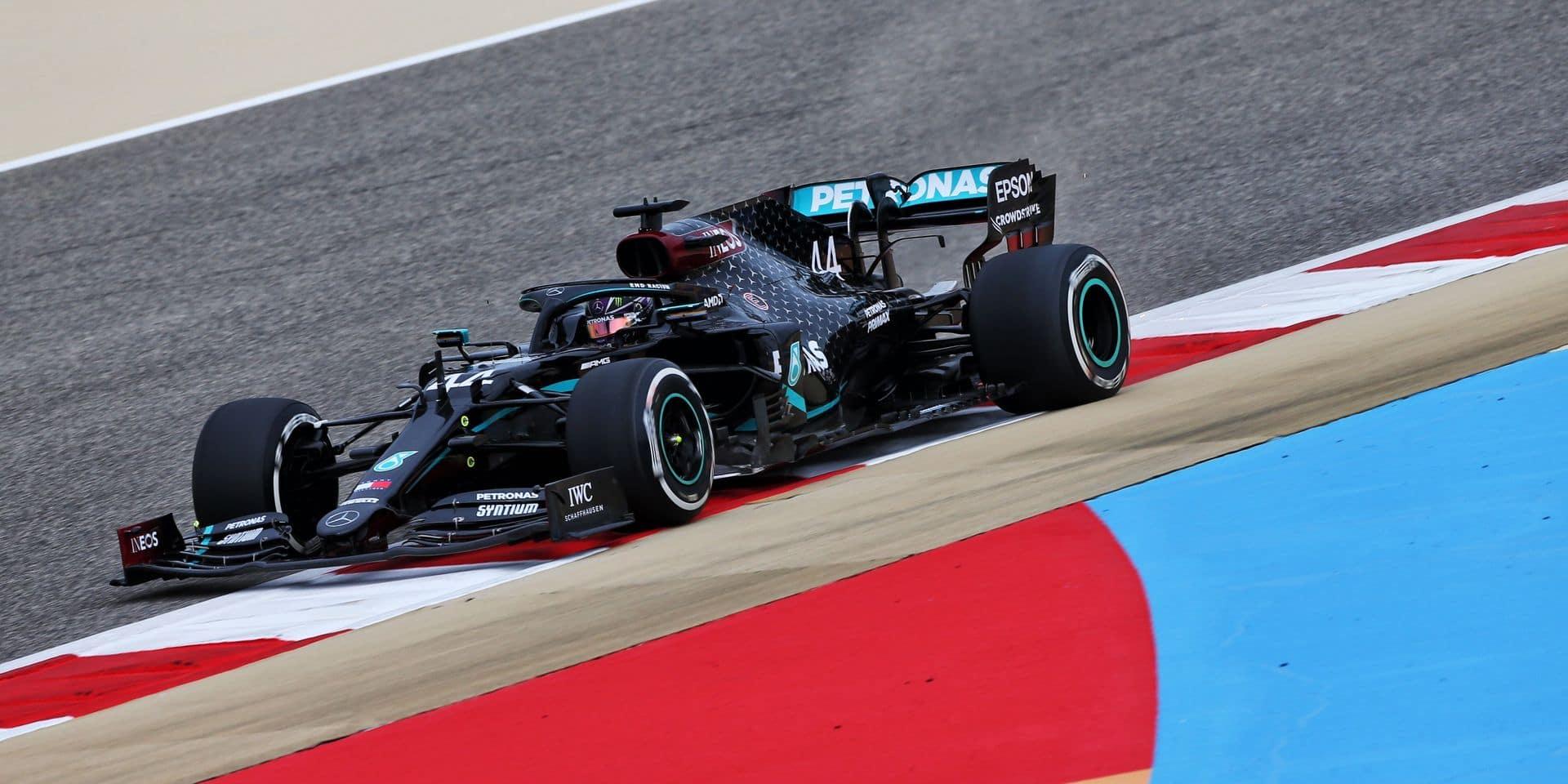 GP de Bahreïn (Libres 1) : les deux Mercedes en pointe au crépuscule