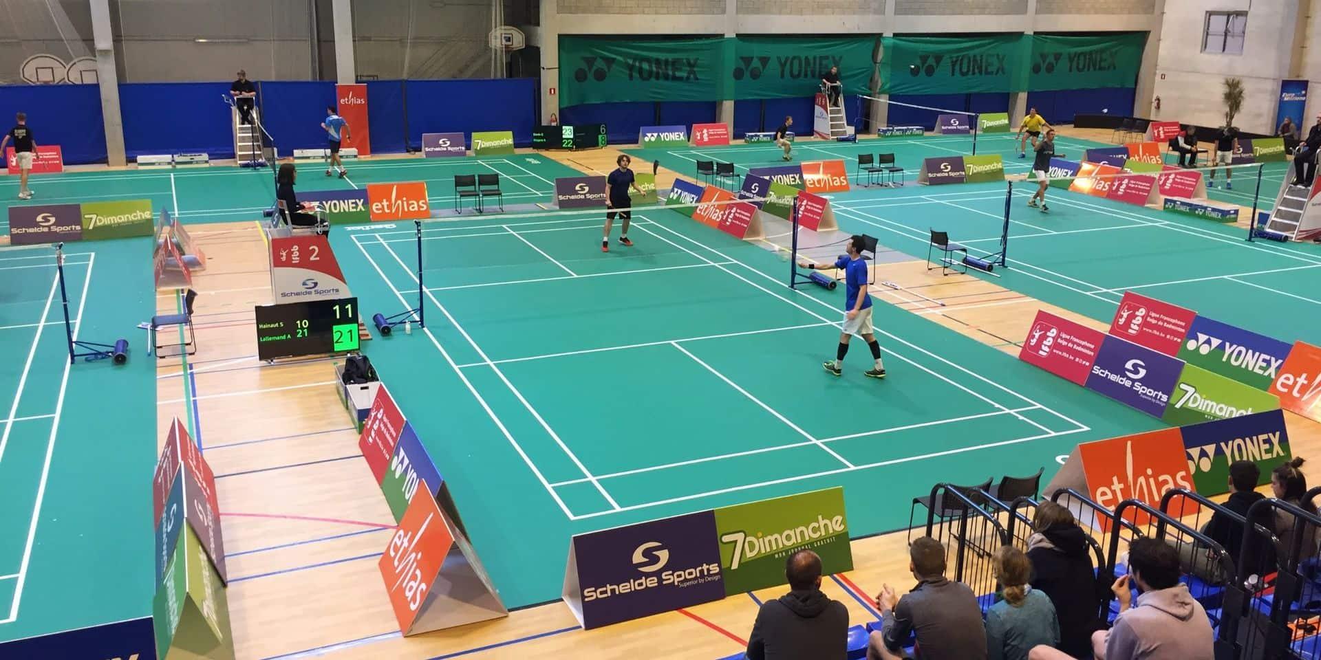Badminton: 200 joueurs aux Championnats Élites de la Ligue Francophone belge à Gembloux