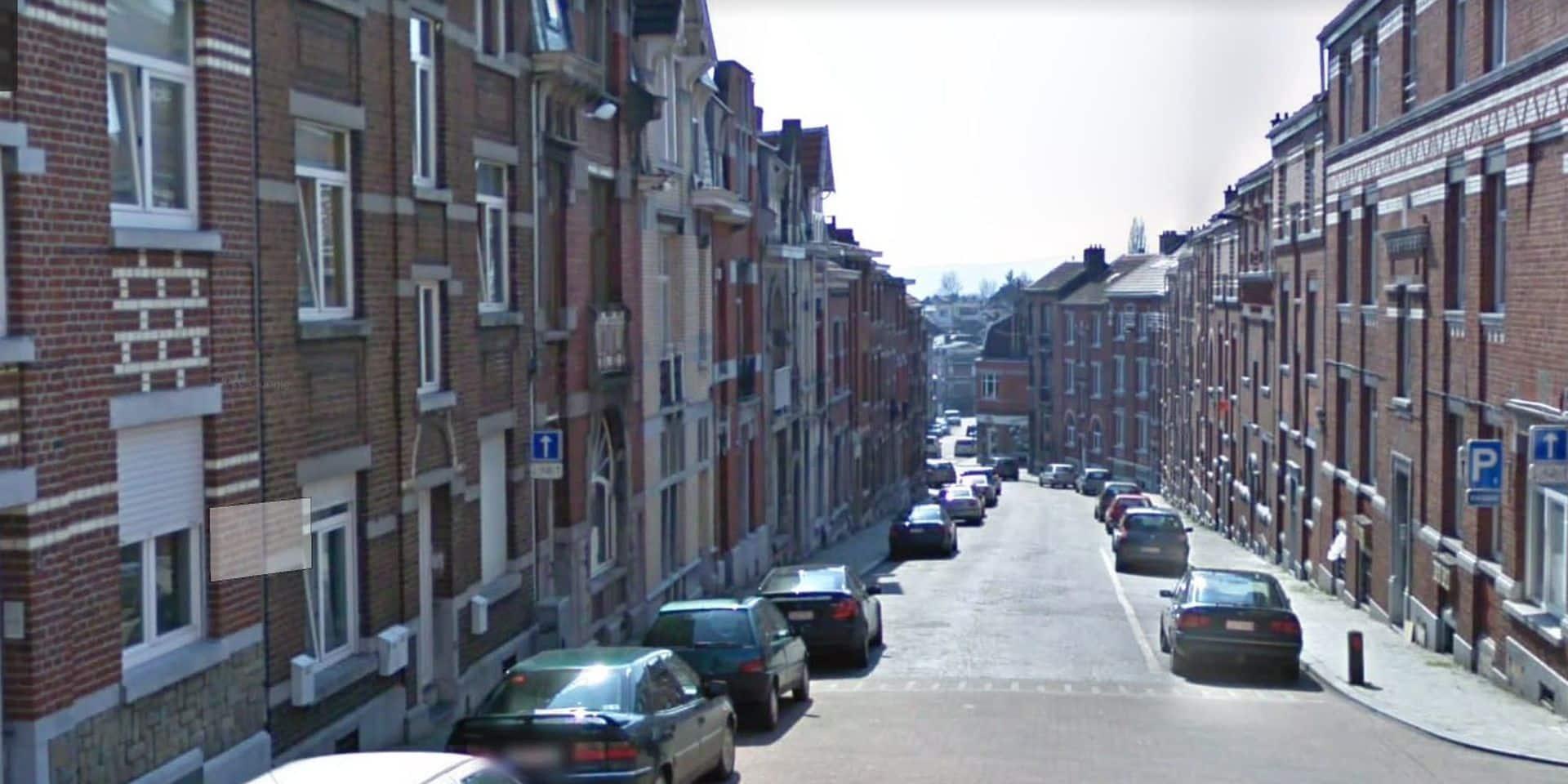 Liège : affaissement de chaussée