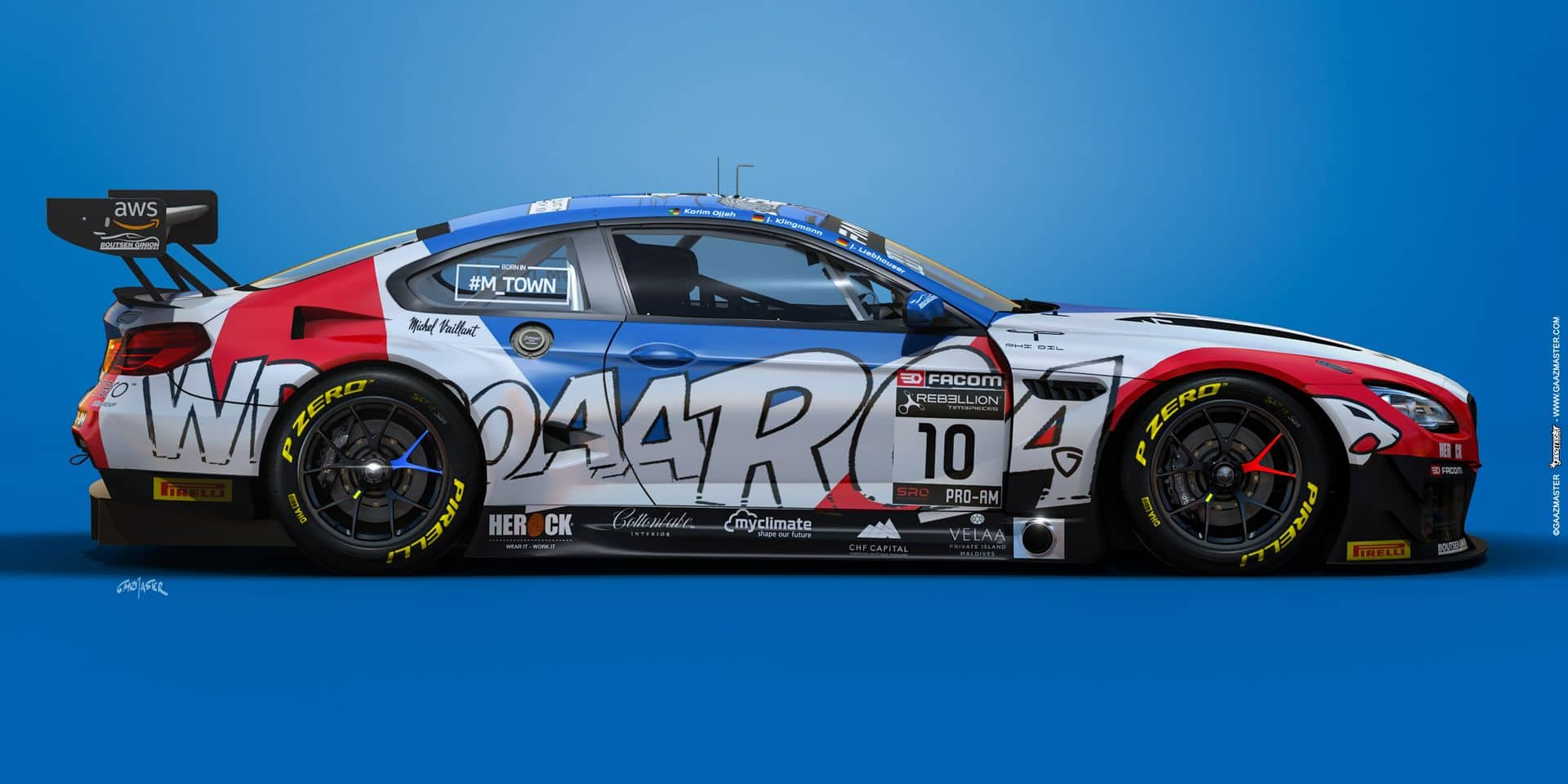 "Une BMW M6 ""Michel Vaillant Art Car"" pour Boutsen Ginion en GT World Challenge Europe !"