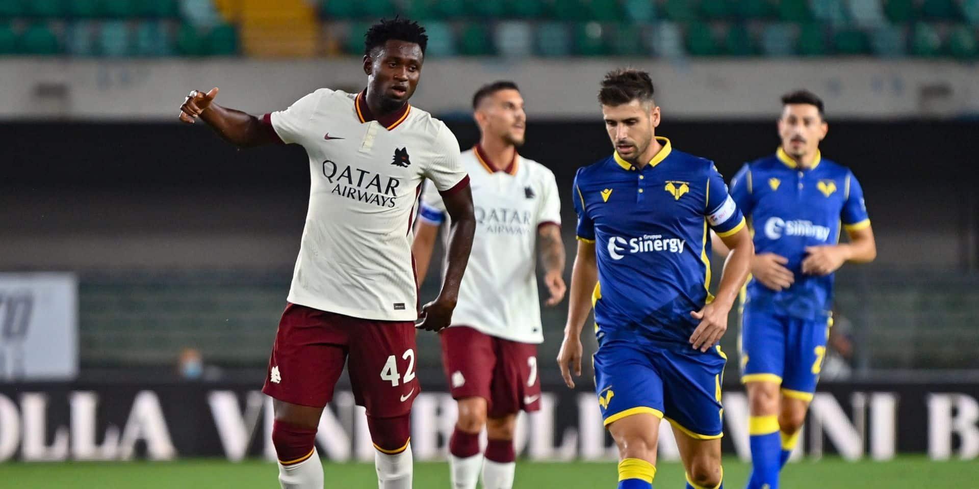 La Roma perd 3 à 0 contre Vérone sur tapis vert