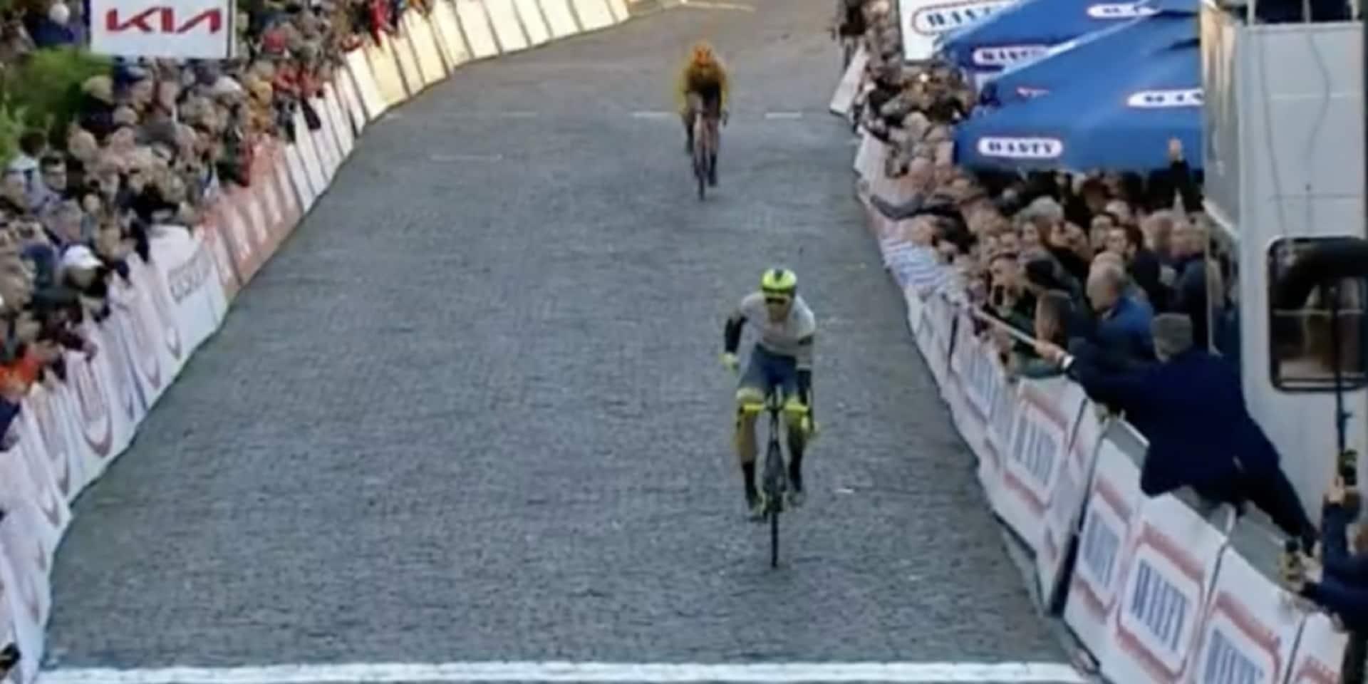 Danny van Poppel offre une magnifique victoire à Wanty - Gobert à Binche!