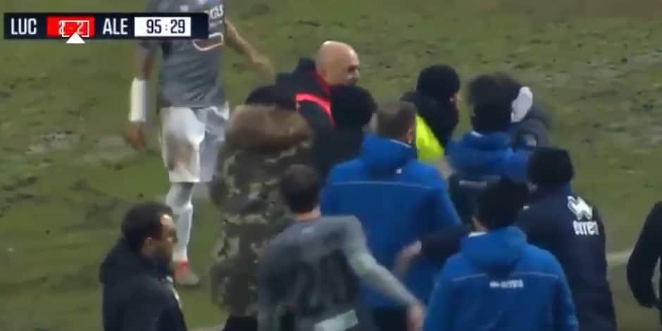 Un entraîneur italien se la joue façon Zidane et prend 5 mois de suspension