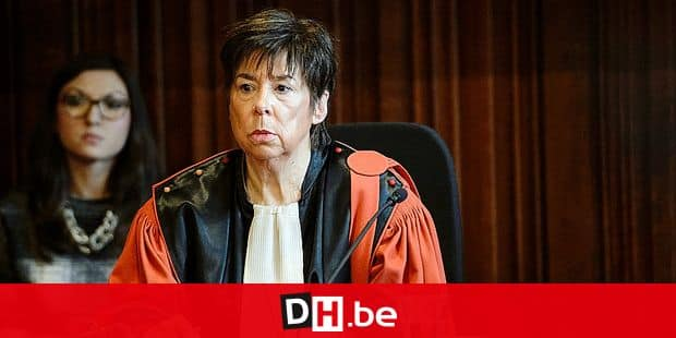 20141119 - LIEGE, BELGIUM: Public prosecutor Marianne Lejeune pictured during the jury constitution session of the assizes court for Liege province, for the trial of four accused, Mutlu Kizilaslan (30), Jeremy Wintgens (30), Jonathan Lekeu (25) and Eric Parmentier (36) for the murder on Ishane Jarfi, Wednesday 19 November 2014 in Liege. The 32 year old Jarfi was beaten to death on 22 April 2012 after leaving a bar, homophobia is said to be the reason for the murder. BELGA PHOTO NICOLAS LAMBERT