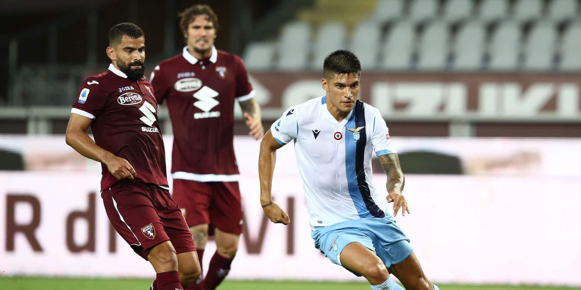 Belges à l'étranger: la Lazio émerge sur la pelouse du Torino, Manchester United facile vainqueur de Brighton et Trossard