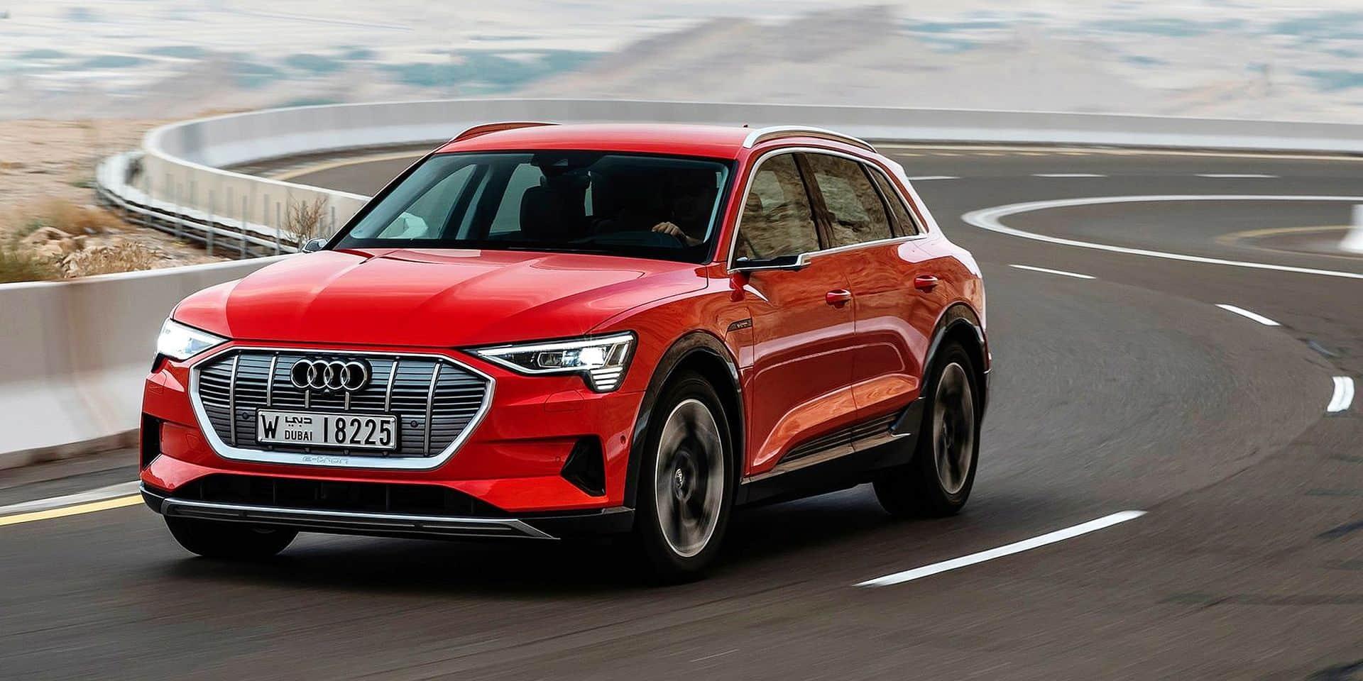 Essai Auto : l'e-Tron ? C'est d'abord une Audi