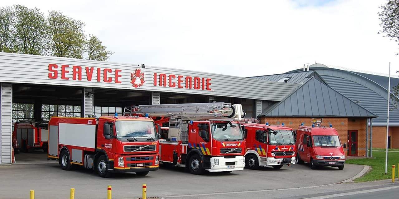 Portes ouvertes chez les pompiers de Philippeville