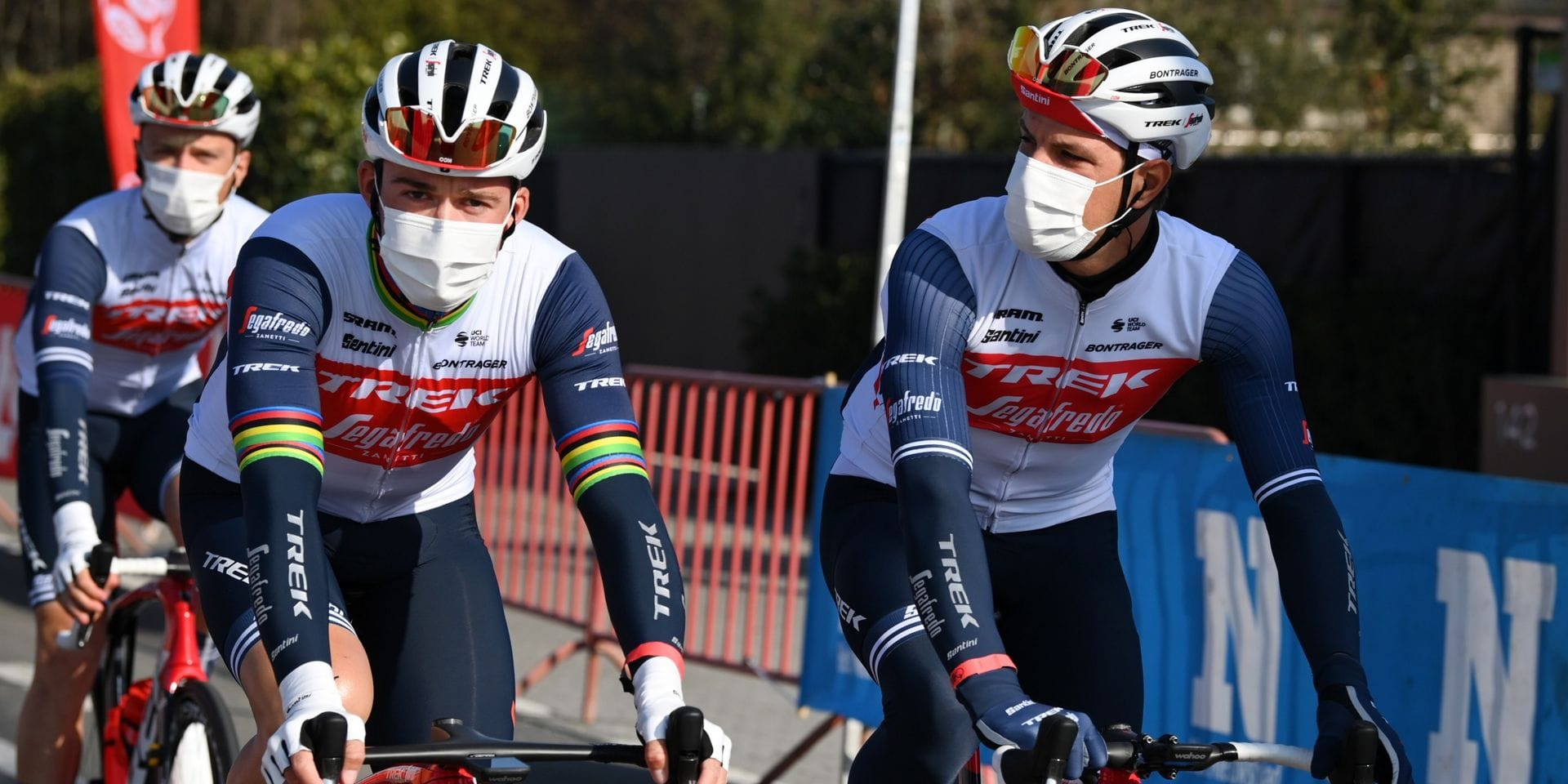 À travers la Flandre: Bora-Hansgrohe finalement au départ, Trek-Segafredo avec Stuyven mais sans Pedersen