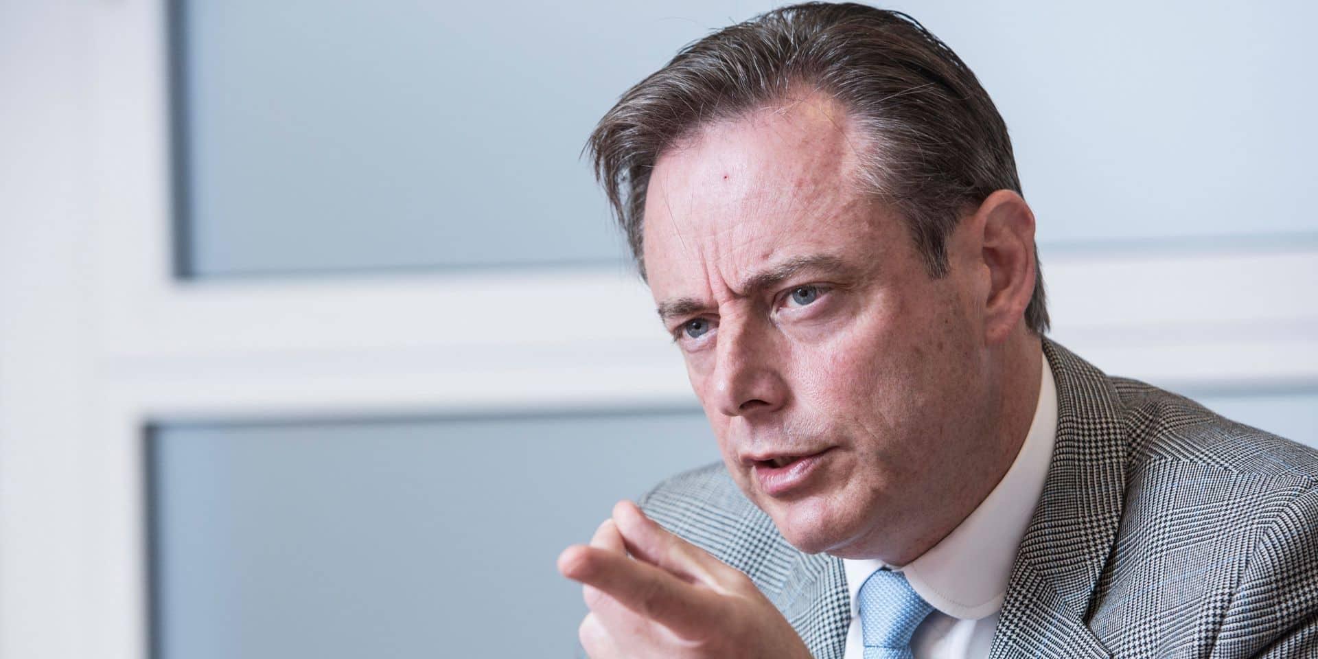 """Bart De Wever:""""La N-VA et seulement la N-VA peut être la force pour transformer ce pays en confédération"""""""