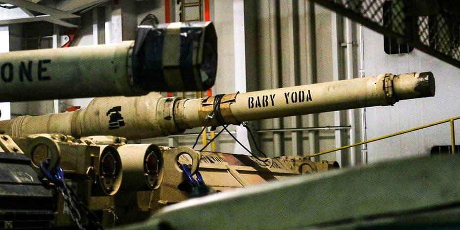 Un tank nommé Baby Yoda dans l'armée américaine