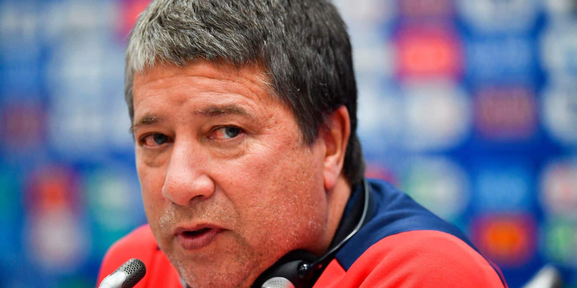 """Le coach du Panama élogieux envers les Diables: """"La Belgique, c'est plus fort que l'Argentine"""""""
