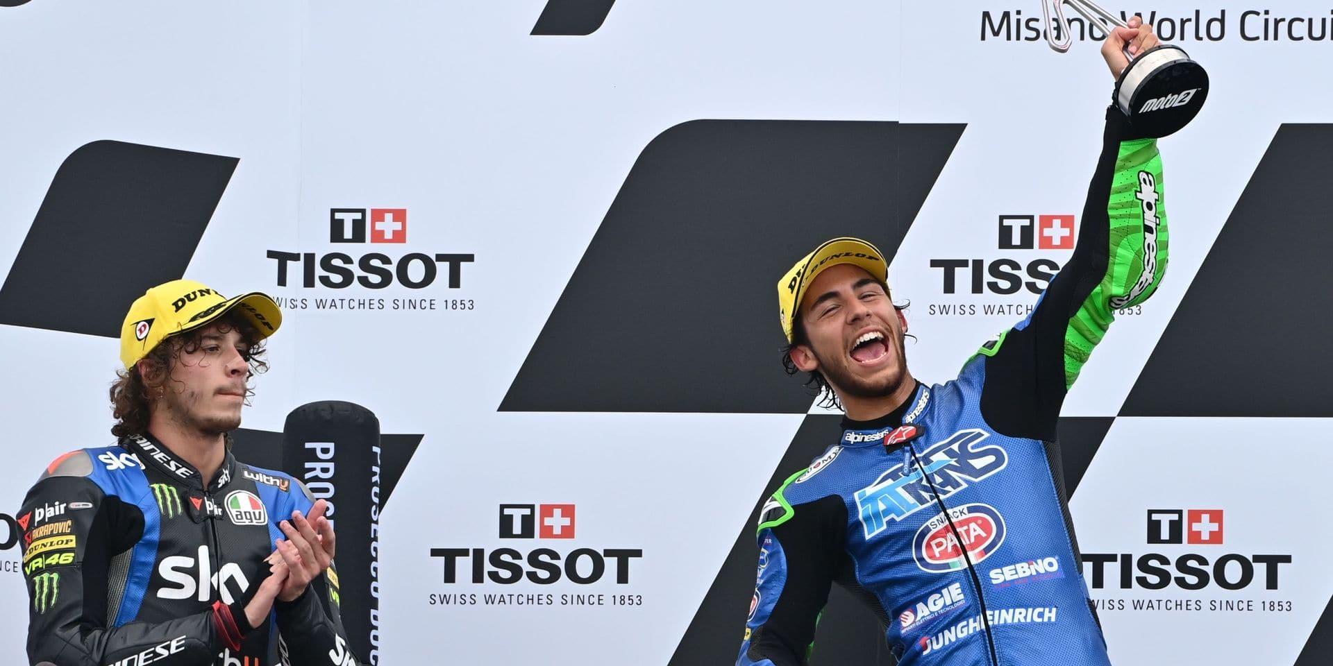 Moto2 - Grand Prix d'Emilie-Romagne: victoire de Bastianini en Moto2, Marini 4e